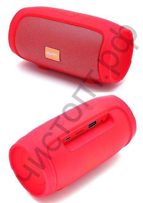 Колонка универс.с радио OT-SPB13 (008) (TF, USB, FM) красная