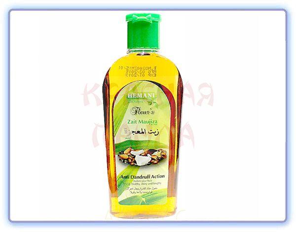 Масло для волос Муджидза против ломкости и перхоти Hemani