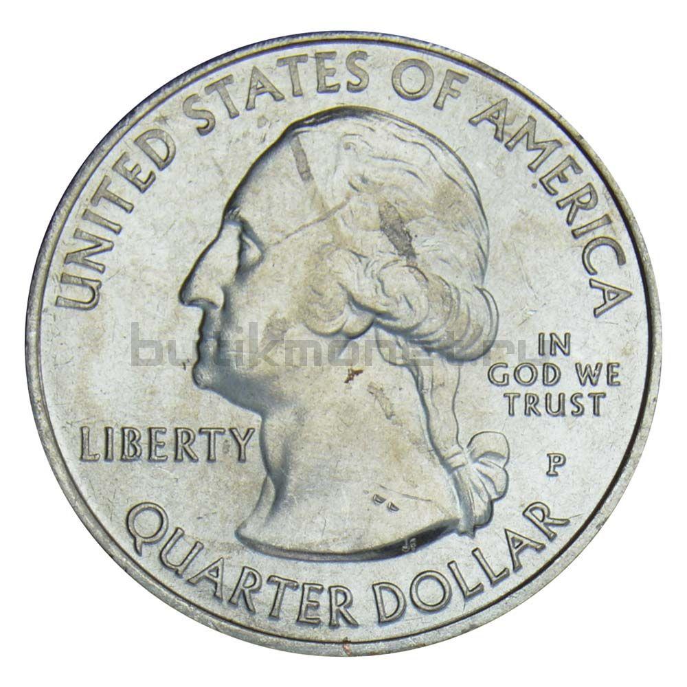 25 центов 2018 США Национальное побережье острова Кумберленд P