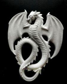 """Молд силикон """"Дракон"""" 7,2х5,7 см"""