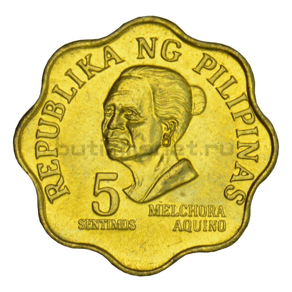 5 сентимо 1975 Филиппины