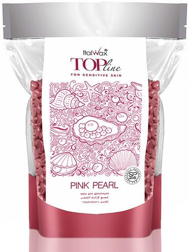 ITALWAX Плёночный воск TOP LINE Розовый жемчуг 750 гр