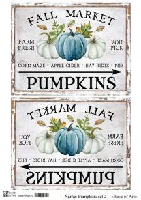 Pumpkins set 2