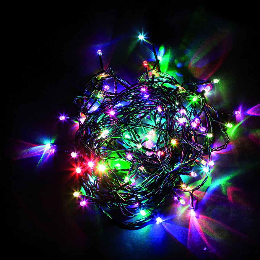 Гирлянда электрическая Feron CL03 32289 разноцветная