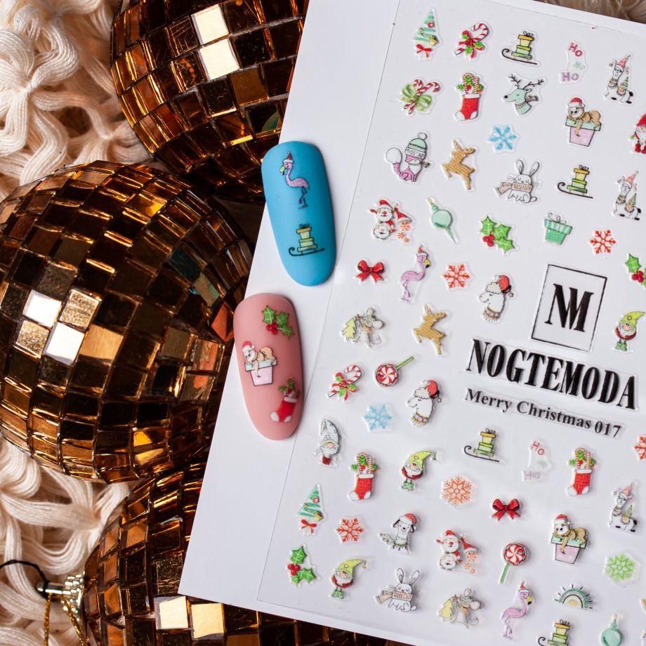 Стикер Nogtemoda Merry Christmas 017
