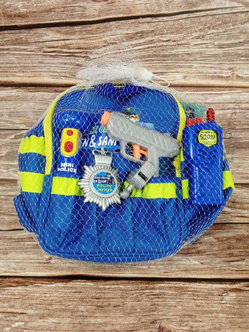 Полицейский рюкзак Ben & Sam Klein 8802 с экипировкой
