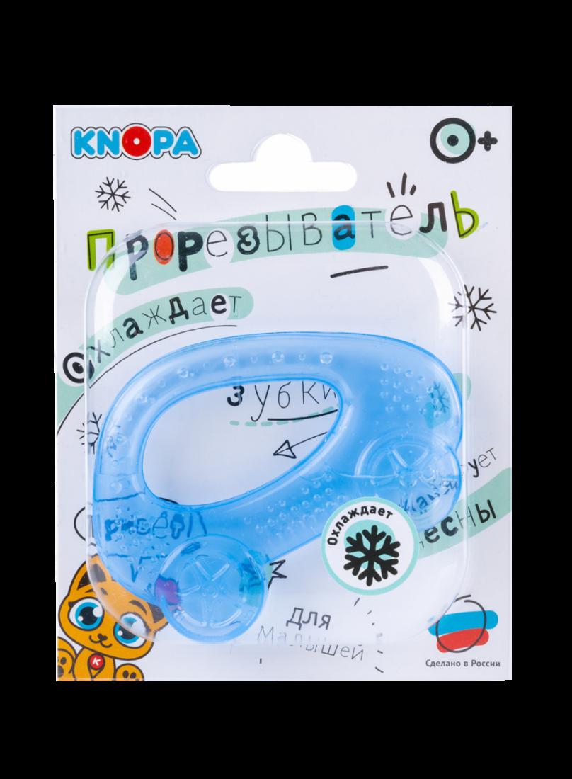 Прорезыватель KNOPA 80032 Машинка, синяя