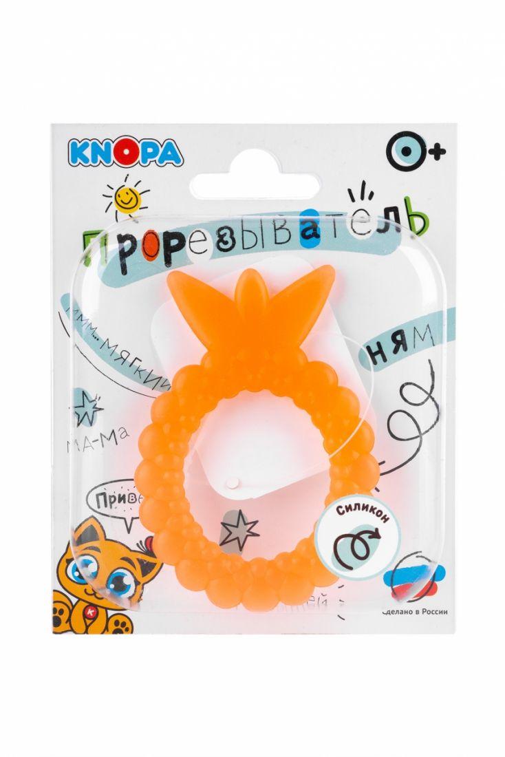 Прорезыватель KNOPA C13 Ягодка, оранжевая