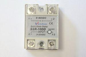 Твердотельное реле 25А 3-32VDC для коммутации постоянного тока 5-60VDC