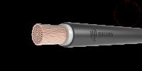 Провод одножильный ПуГВнг(А)-LS сечение 1.5мм черный для монтажа электрических цепей (метр) купить в Екатеринбурге
