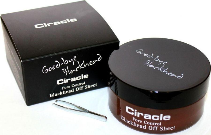 Маски-салфетки от черных точек Ciracle Blackhead Off Sheet, 35 шт