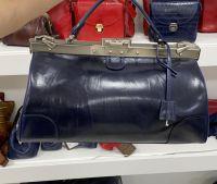 Кожаный саквояж Alexander-TS «SW14 Blu»