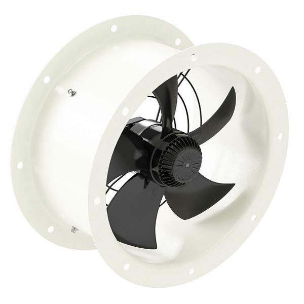Осевой вентилятор YWF-2Е-250 (с фланцами)