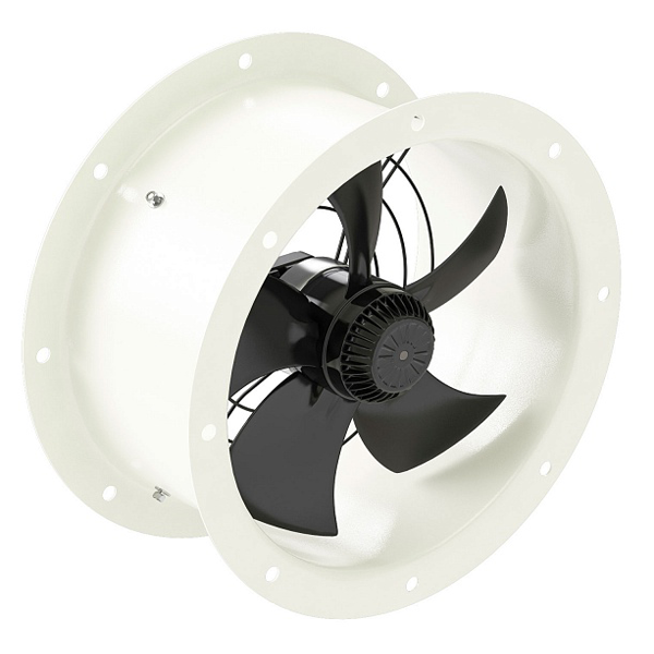 Осевой вентилятор YWF-2Е-300 (с фланцами)