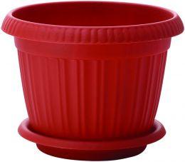 """Горшок для цветов """"Таити"""" D 420 мм с подставкой № 8 """"пластик репаблик"""" ING41042"""