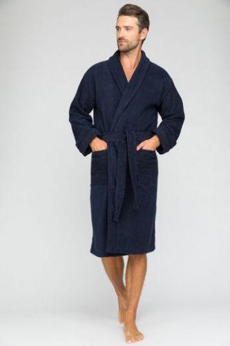 Мужской банный халат King Power Blue