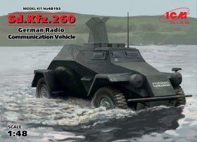 Sd.Kfz.260, Германский бронеавтомобиль радиосвязи ІІ МВ