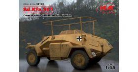 Sd.Kfz.261, Германский бронеавтомобиль радиосвязи ІІ МВ