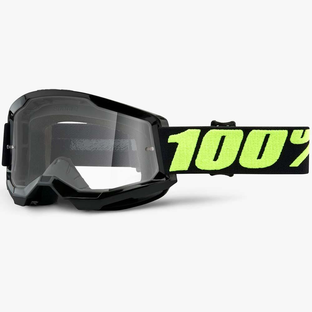 100% Strata 2 Upsol Clear Lens, очки