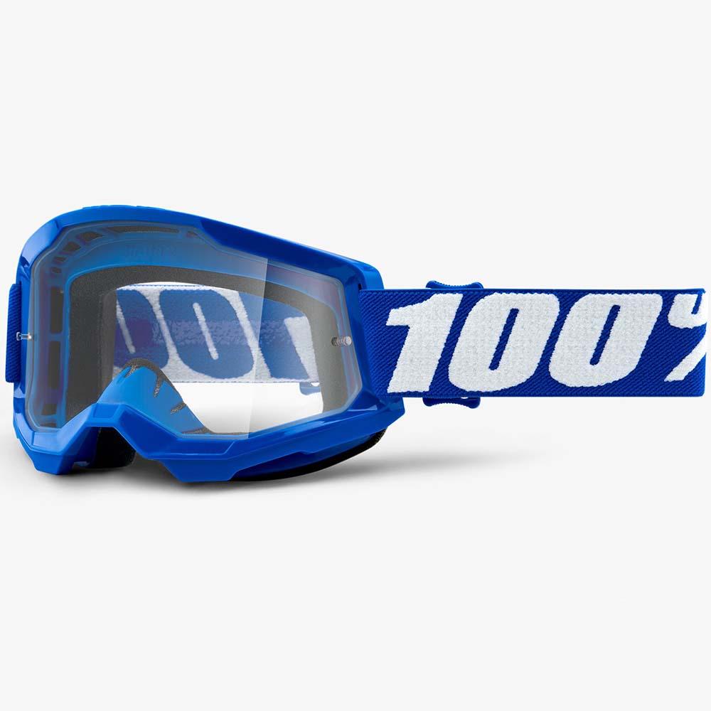 100% Strata 2 Blue Clear Lens, очки