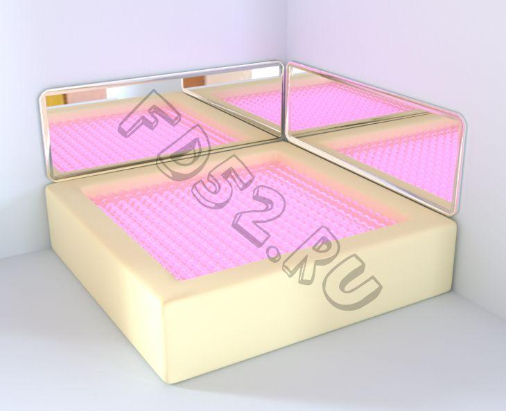 Акриловая зеркальная панель к интерактивному сухому бассейну 150х50 RG194
