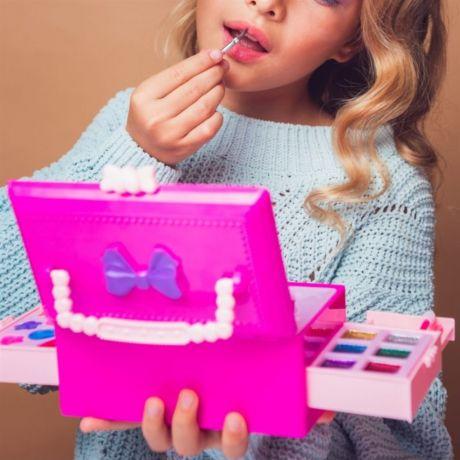Детская декоративная косметика. Набор Сундучок