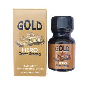 Купить Попперс Gold Hero 10мл в Ростове в Секс Шопе