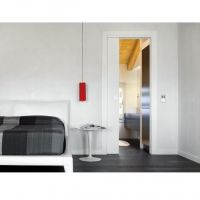 Пенал Eclisse Unico Single (для полотна 2000 мм и 2100 мм). в интерьере