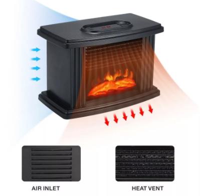 Flame Heater мини-обогреватель