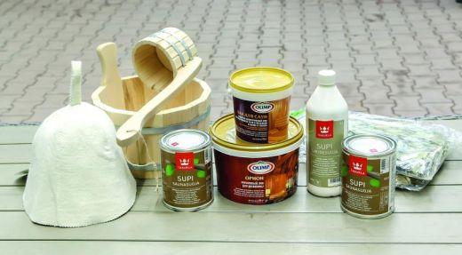 Химия для бани и сауны