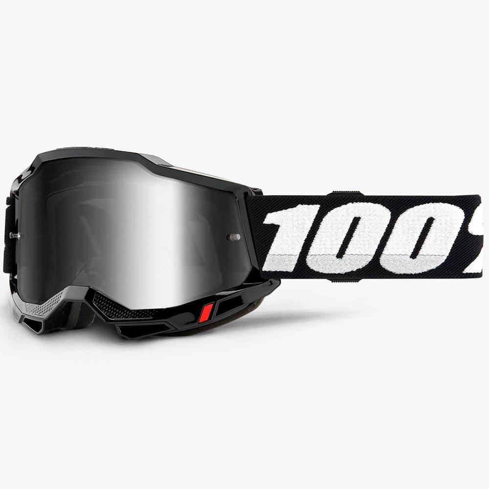 100% Accuri 2 Black Mirror Silver Lens, очки