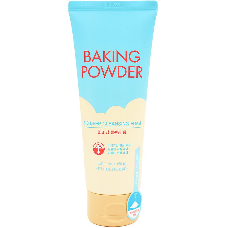 Пенка очищающая для снятия BB-крема с содой Etude House Baking Powder B.B Deep Cleansing Foam 160 мл