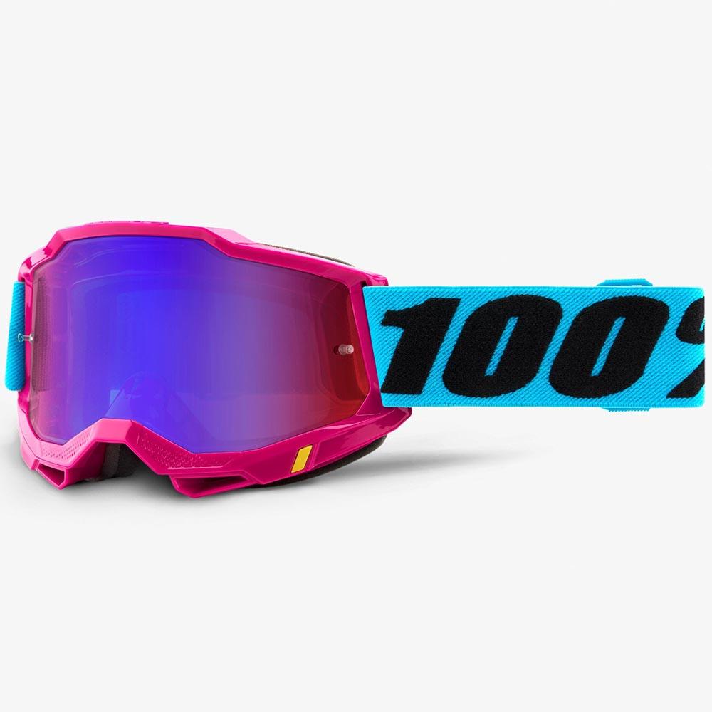 100% Accuri 2 Lefleur Mirror Red/Blue Lens, очки