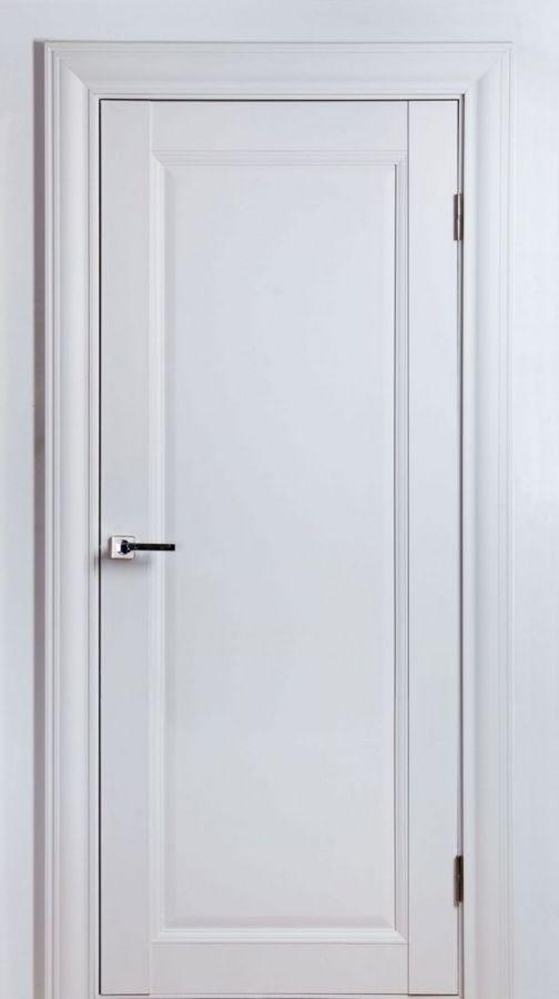 Дверное полотно Classik-3 F Белый Шёлк