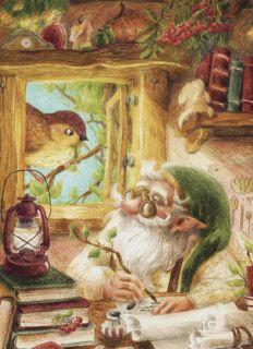 Почтовая открытка Окно