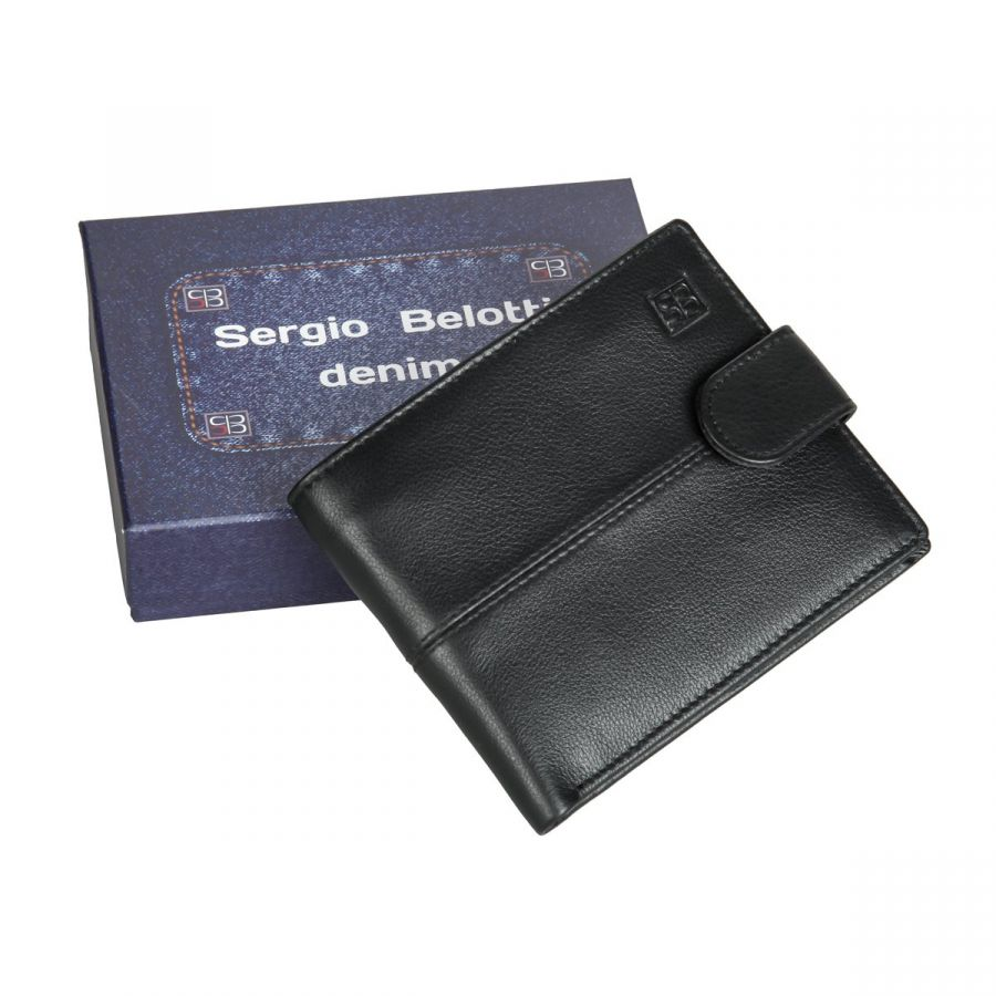Портмоне Sergio Belotti 2330-01 denim black
