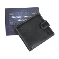 Портмоне Sergio Belotti 1818-03 denim black
