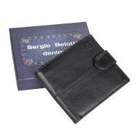 Портмоне Sergio Belotti 1818-01 denim black