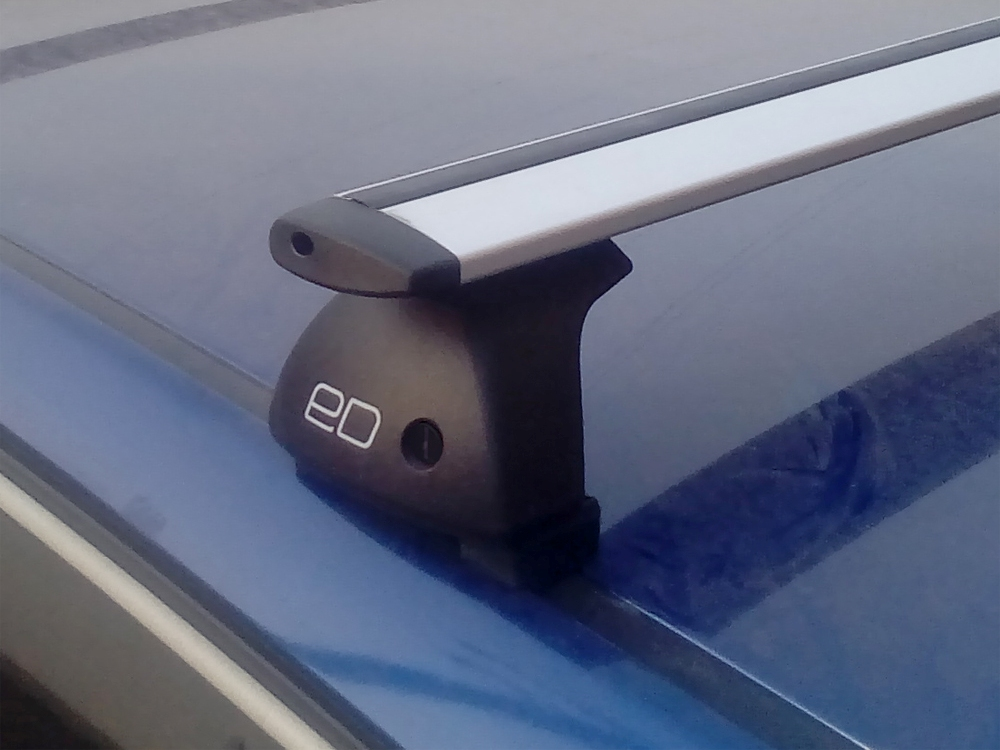Багажник на крышу Kia Ceed hatchback, Евродеталь, крыловидные дуги