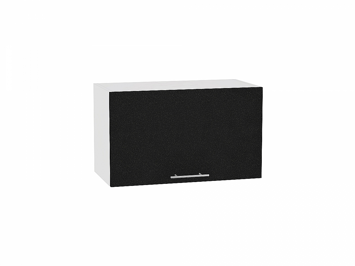 Шкаф верхний Валерия ВГ600 (чёрный металлик)