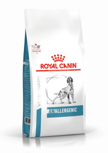 Корм сухой ROYAL CANIN ANALLERGENIC диета для собак всех пород при пищевой аллергии 3кг