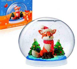 Создай волшебный шар Зимний лис