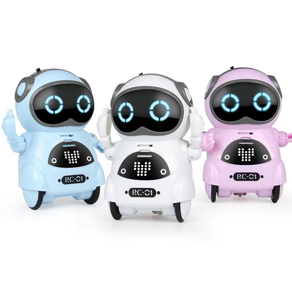 Интерактивная игрушка Pocket Robots танцующий робот-повторюшка RC-01 939A