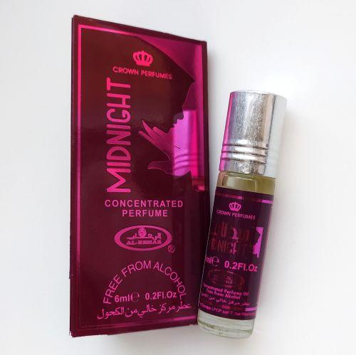 Арабские масляные духи Midnight | Полночь | 6 мл | Al-Rehab | Женский
