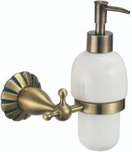 S-08931C Savol Girtin Дозатор жидкого мыла латунный.Бронза
