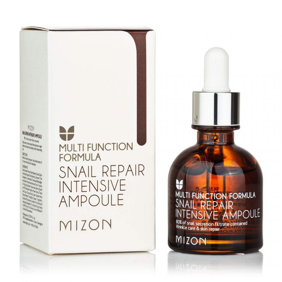 Сыворотка для лица с муцином улитки интенсивная восстанавливающая Mizon Snail Repair Intensive Ampoule 30мл