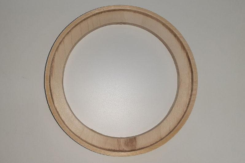 Кольцо проставочное 17 см с утоплением или без