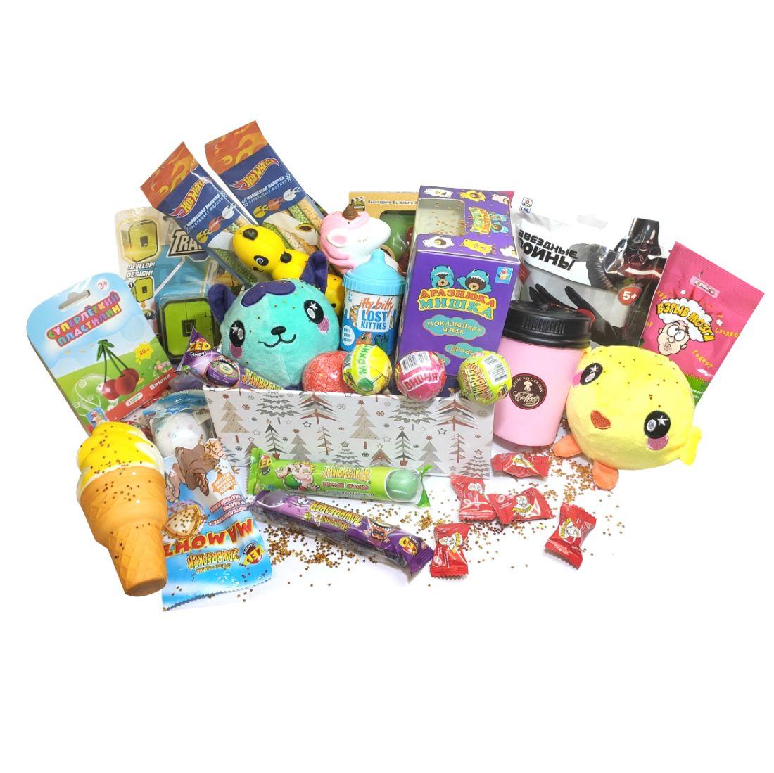 Candy-Box Mistery Сладкий подарок в коробке