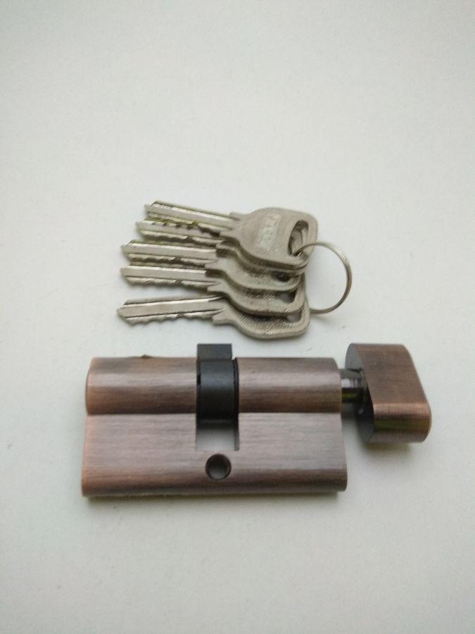 Цилиндровый механизм с вертушкой. 60. Итарос, медь