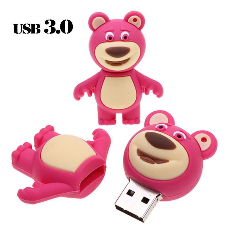 Орбита OT-MRF30 флэш USB 3.0 32Гб (Медведь)